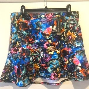W118 by Walter Baker Dee Printed Skirt Size LARGE